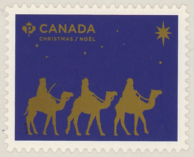 2019 Christmas, The Magi, Mint Booklet Stamp, Canada