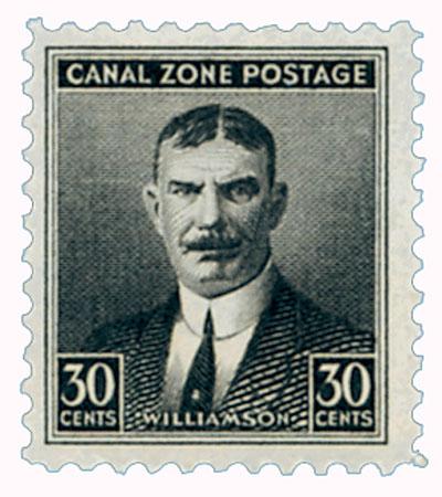 1928-40 30c blk,Williamson,flat,unwmk