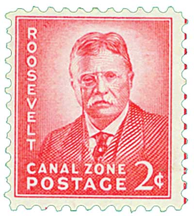 1946-49 2c light rose carmine, Roosevelt