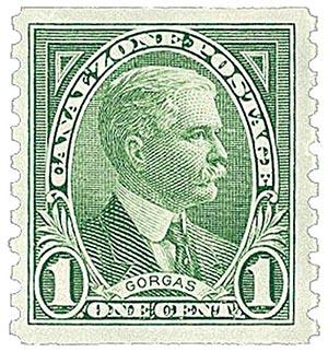 1975 1c green, Gorgas, coil