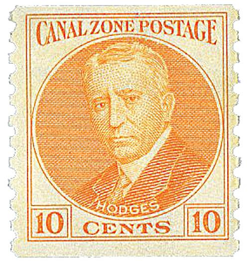 1975 10c orange, Hodges, coil