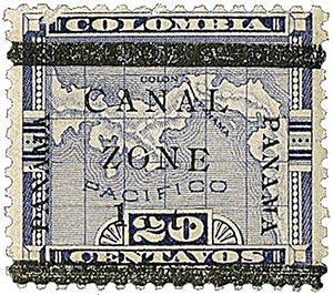 1906 1c on 20c violet type c