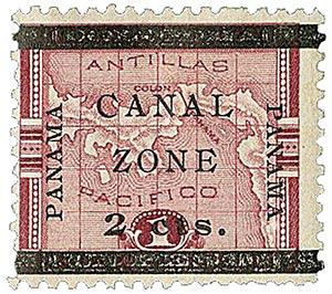 1906 2c on 1p lake type f