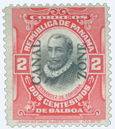 1909 2c ver,blk, Cordoba, type I
