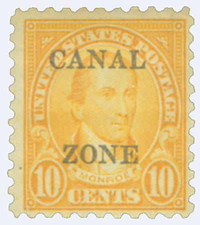 1927 10c org, ovprnt type B
