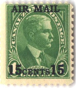 1929 15c on 1c grn,  William Gorgas