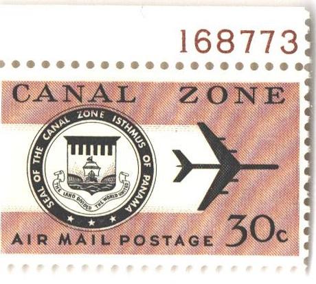 1965 30c redsh brn, blk, Seal & Jet