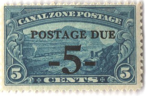 1930 5c on 5c bl, ovprnt