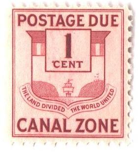 1932 1c claret, postage due, flat