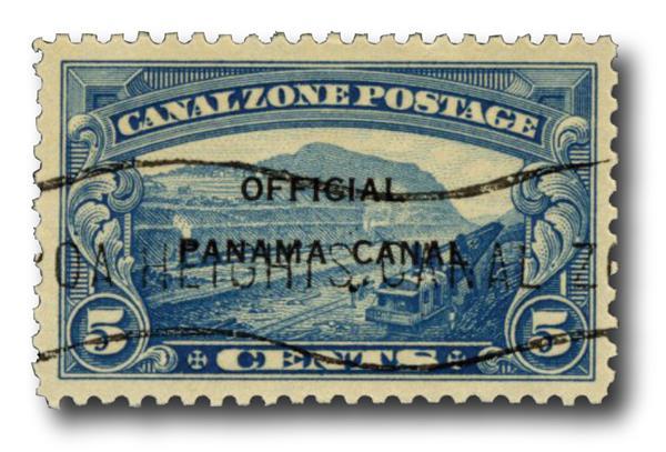 1941 5c bl, official