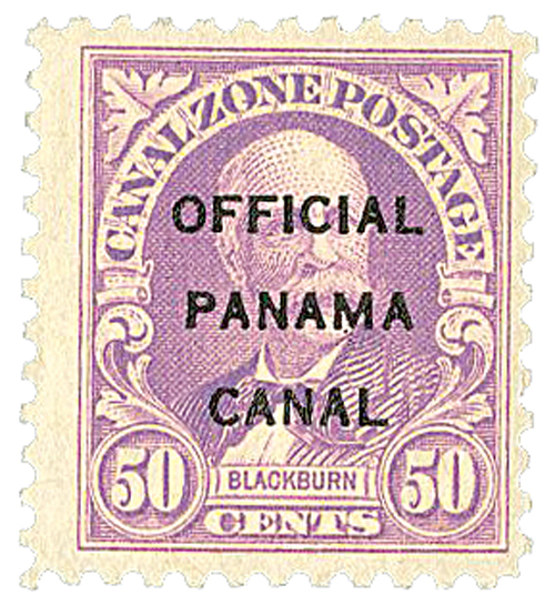 1941 50c lilac, official type 1