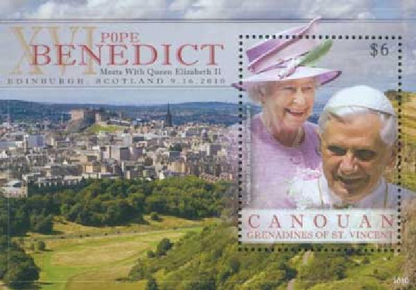 2010 Canouan Pope Benedict & Queen 1n M