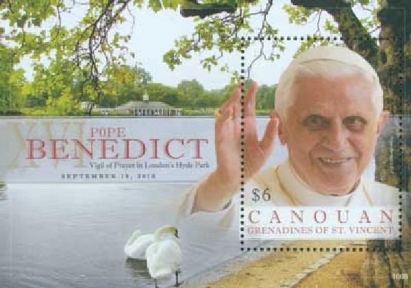2010 Canouan Pope Benedict in Hyde Park