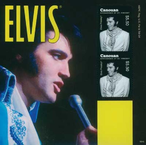 2010 Canouan Elvis Presley 2v Mint