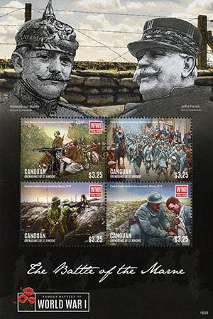 2015 $3.25 WWI: Battle of the Marne