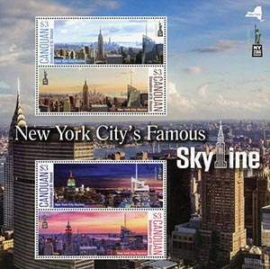 2016 New York Citys Famous Skyline Sht