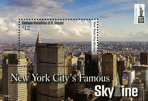 2016 New York Citys Famous Skyline S/S