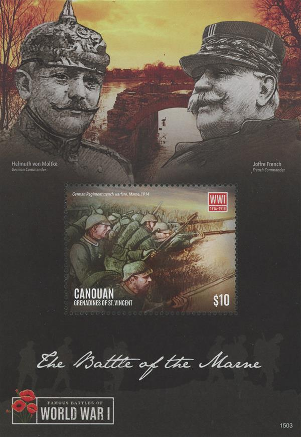 2015 $10 World War I; Battle of the Marne