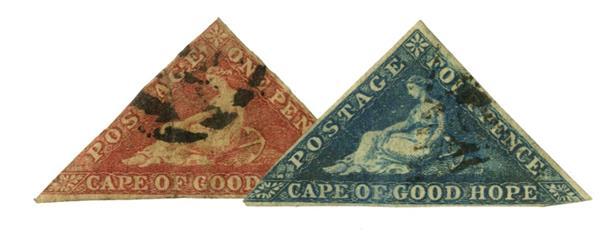 1855-57 Cape of Good Hope