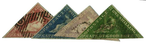 1855-58 Cape of Good Hope