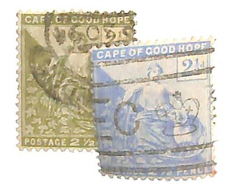 1892-96 Cape of Good Hope