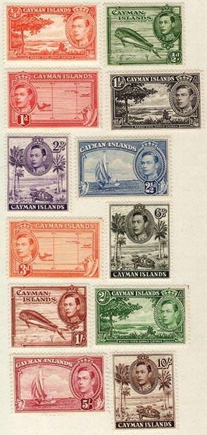 1938-43 Cayman Islands