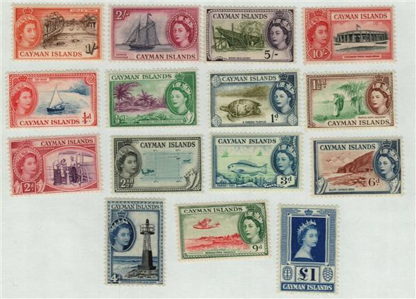1953-59 Cayman Islands