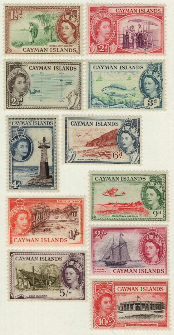 1953-59 Cayman Islands