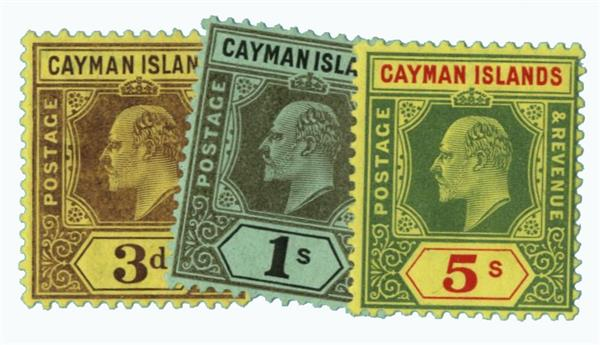 1907-09 Cayman Islands