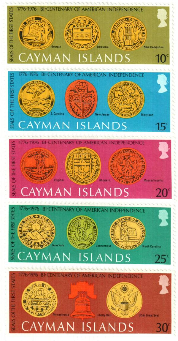 1976 Cayman Islands