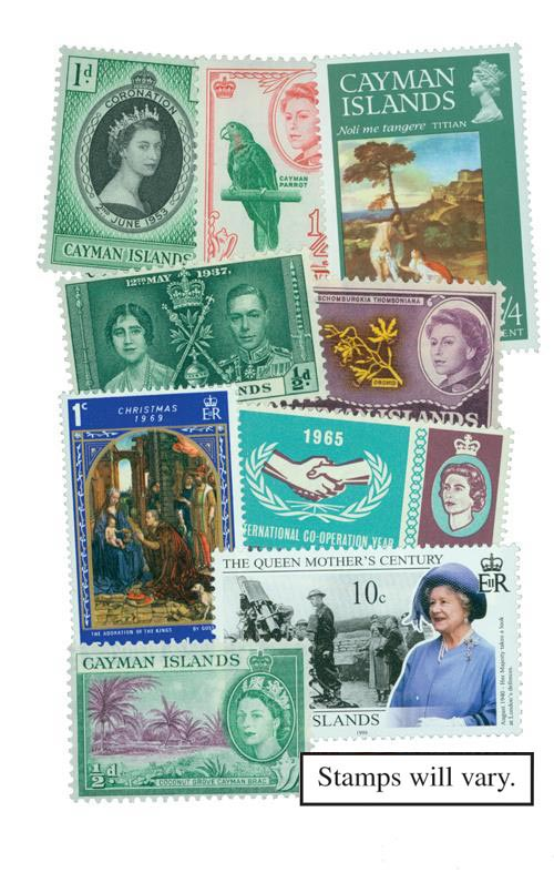 Cayman Island, 300 stamps