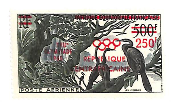 1960 Central African Republic