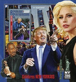 2016 Donald Trump-Celebrities of NY s/s