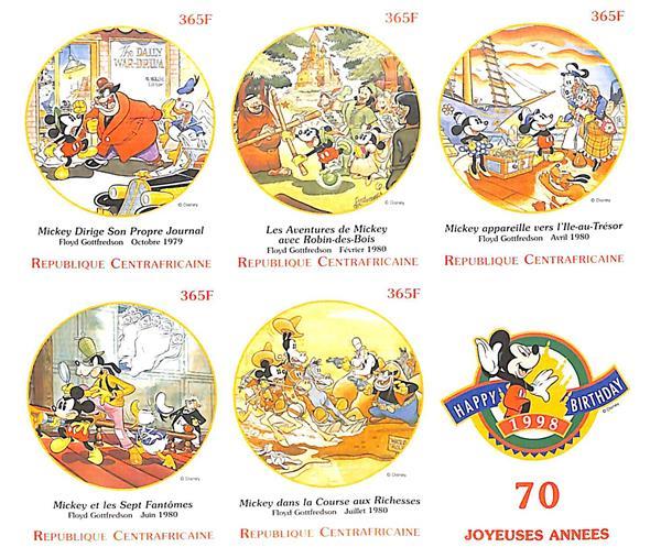 Central Africa LArt De Mickey #2,