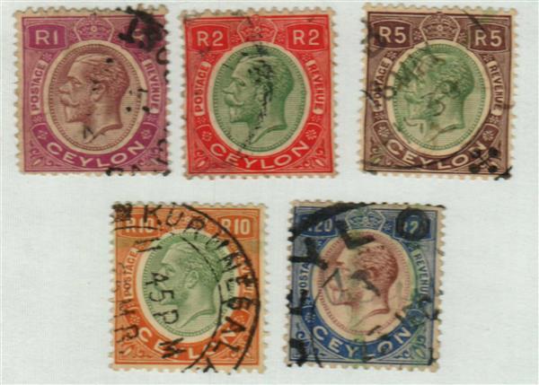 1927-29 Ceylon