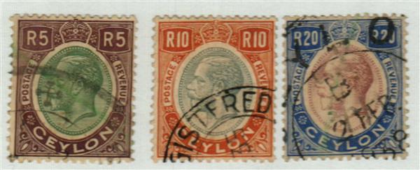1927 Ceylon