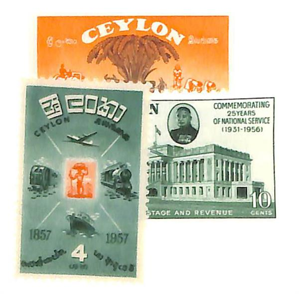 1955-57 Ceylon