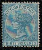 1872 Ceylon