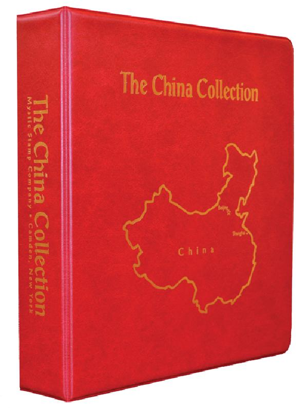Mystic's China Collection Binder, 3-Ring, 11 x 11 1/2