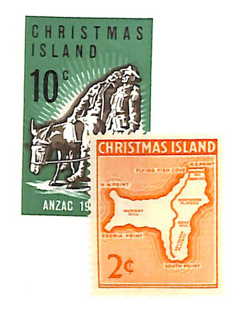 1963-65 Christmas Island