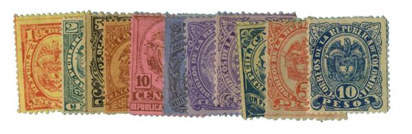1892-99 Colombia