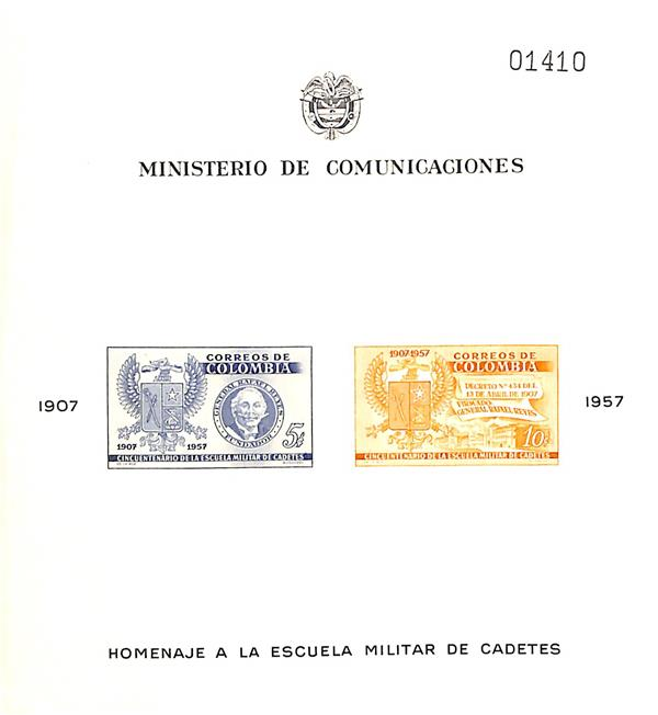 1957 Colombia