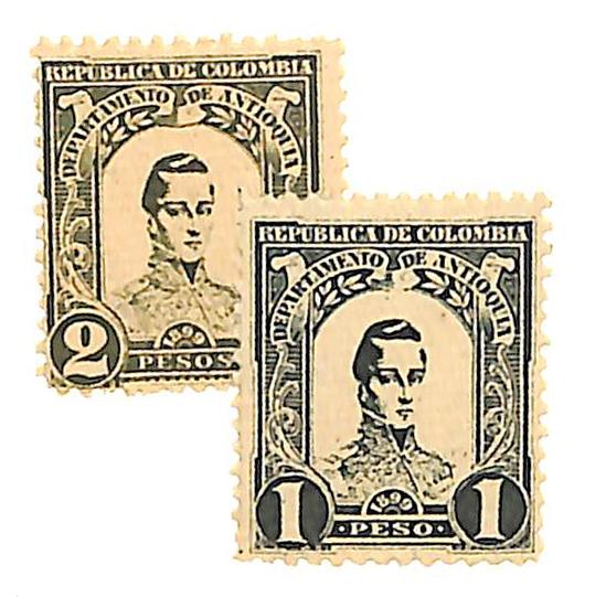 1899 Colombia Antioquia