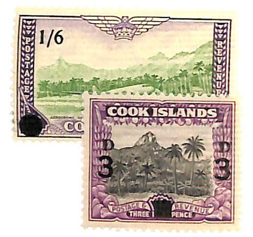 1940-60 Cook Islands