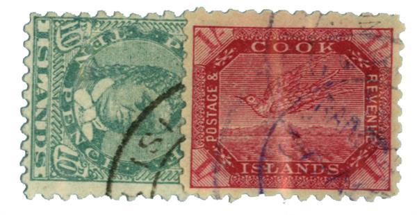 1898-1900 Cook Islands