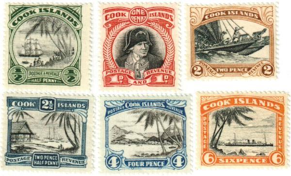 1933-36 Cook Islands