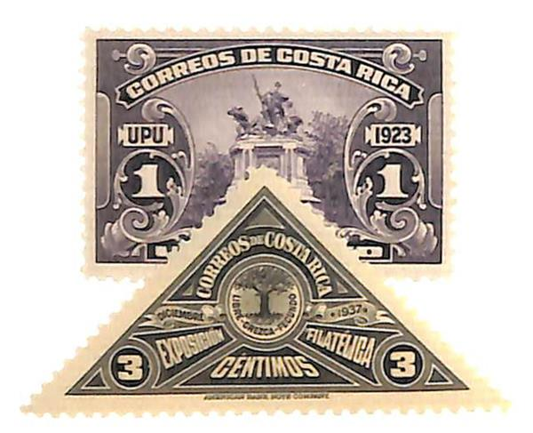 1923-37 Costa Rica