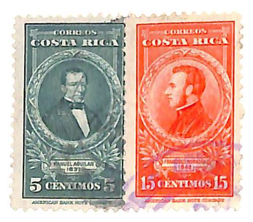 1943 Costa Rica