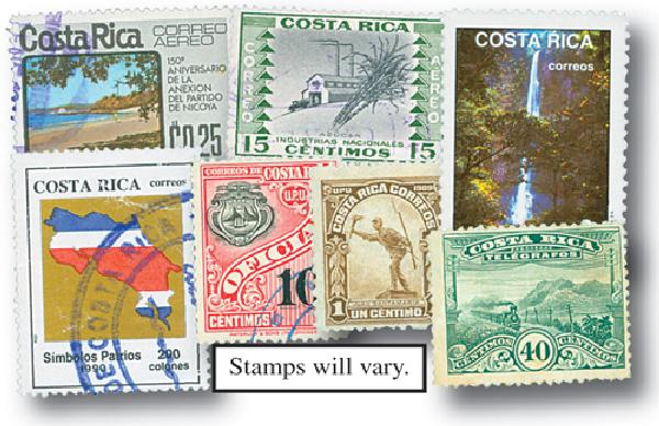 Costa Rica, set of 50