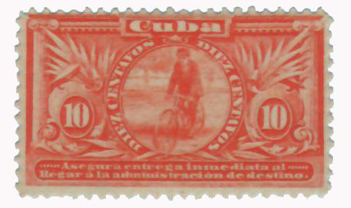 1899 10c org, Cuba, sp deliv.